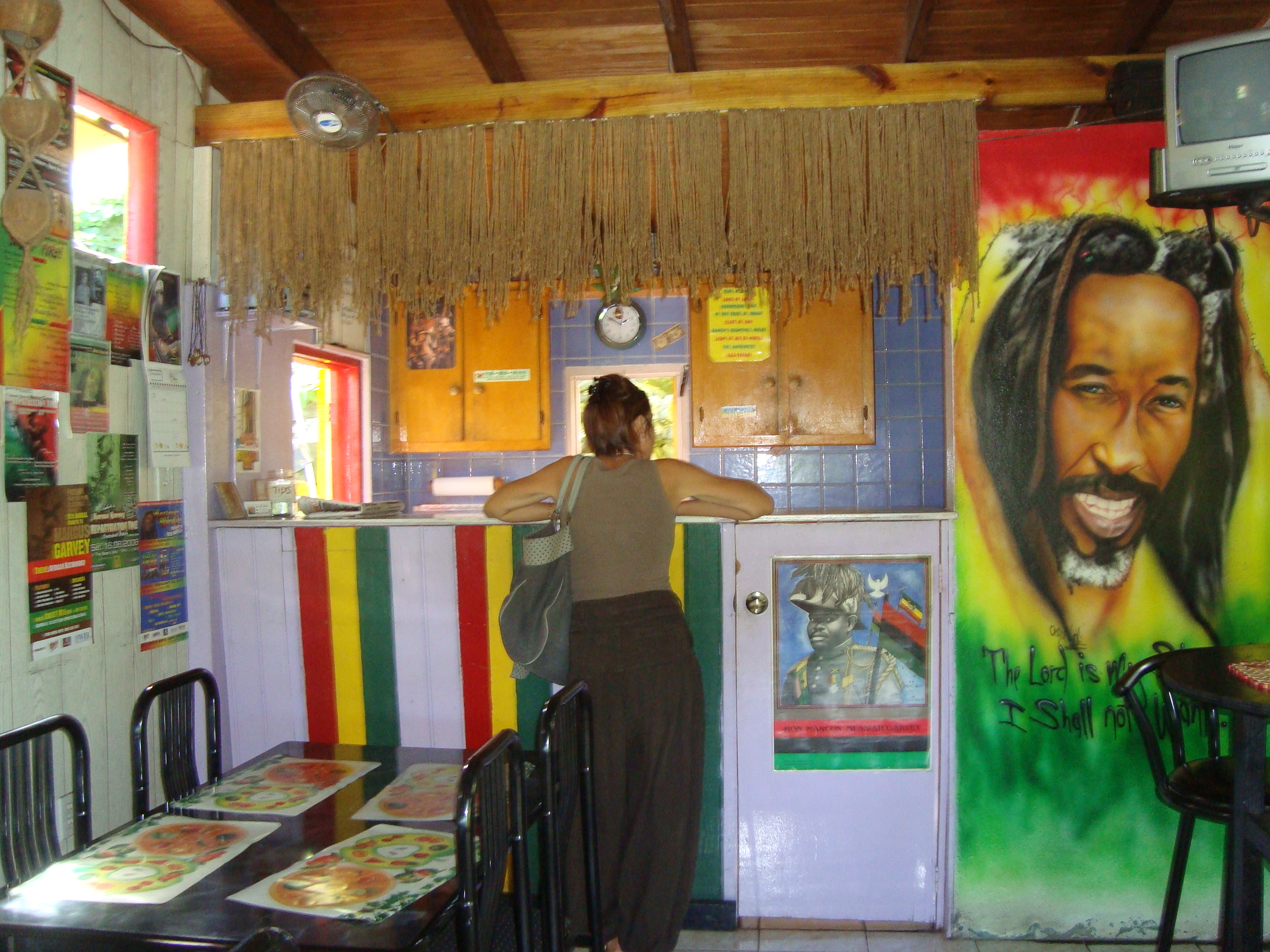 In this colourful caf   Bushman explains that the Rasta way of living is  generally referred to as I tal    I tal is Vital    to a healthy life. Tempt Your Tastebuds in St  Maarten   Melody Wren