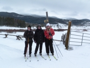 7 cross country skiing at Devil's Thumb Ranch
