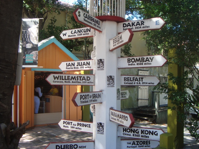 many directions sign