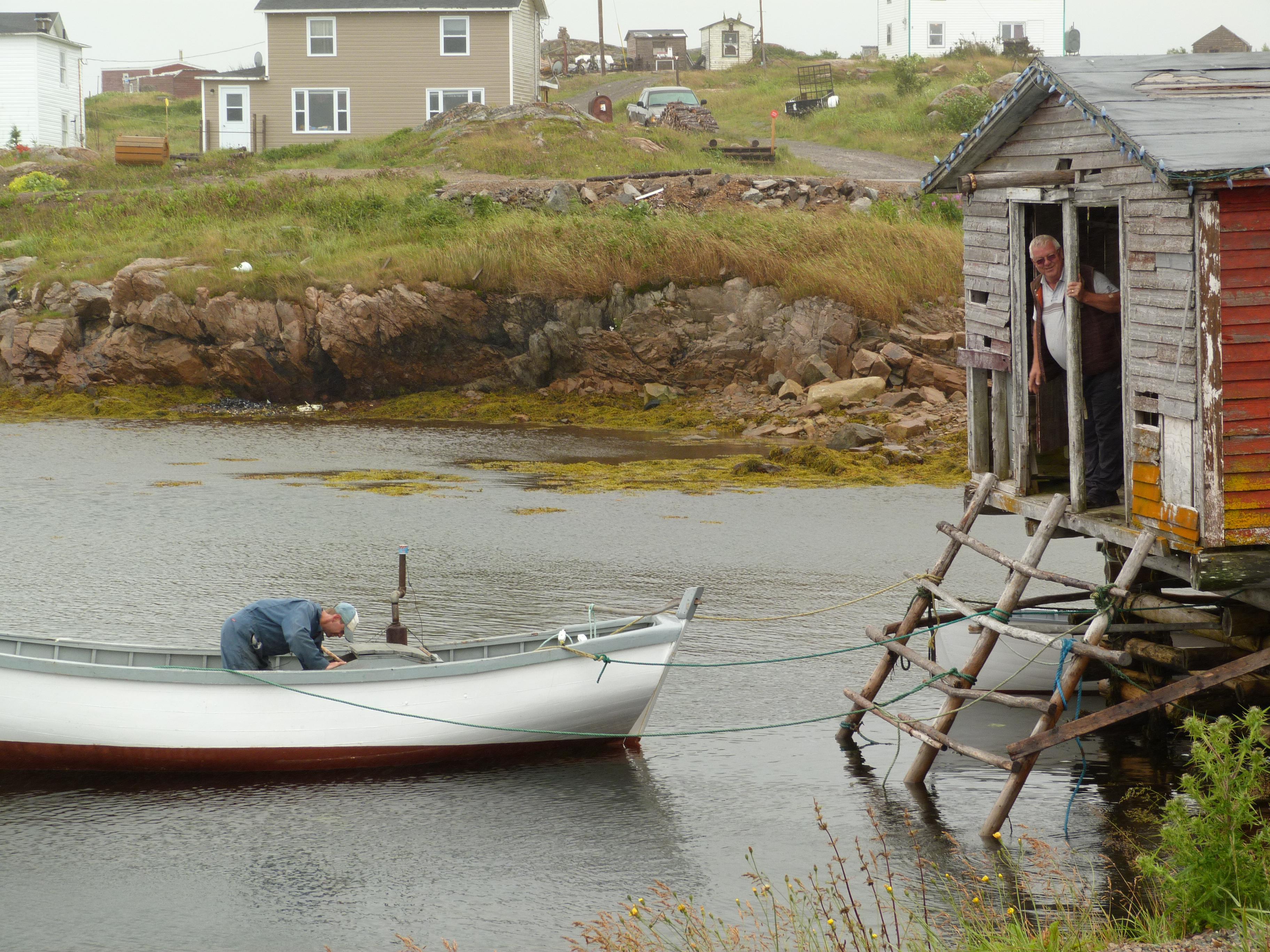 Salt Box House For Rent Fogo Island