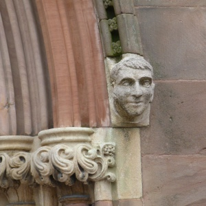 Armagh heads - cathedral