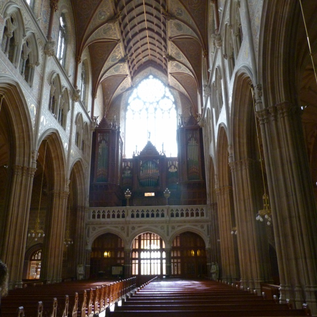 Armagh St. Patrick's cathedral inside