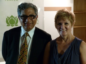 Dr. Deepak Chopra and Melody