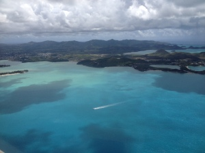 Nevis from the air 2