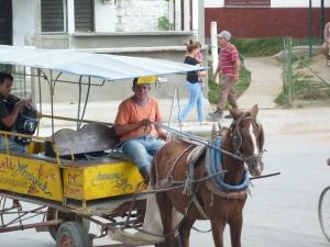 Rural Cuba taxi